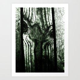 Freak in a tree Art Print