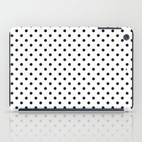 dots iPad Cases featuring Dots by Kings in Plaid