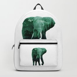 The elephant owns the forest Backpack