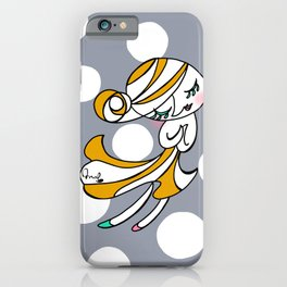 Dot girl iPhone Case