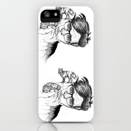 fox planet iPhone Case