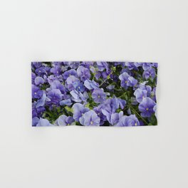 Pansy flower Hand & Bath Towel