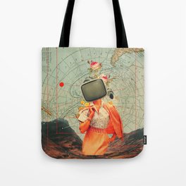Antarctic Broadcast Tote Bag