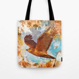 Shouldered Hawk Tote Bag
