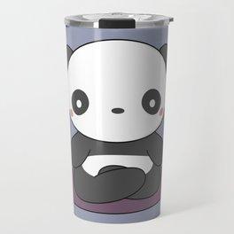 Kawaii Cute Yoga Panda Travel Mug