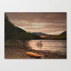 Evening at Thirlmere Canvas Print