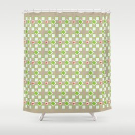 Woven Pattern 3.0 Shower Curtain