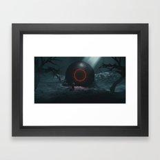 DONALD J (everyday 11.23.16) Framed Art Print