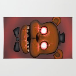 Ghostware Freddy Rug