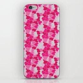 Camo harts iPhone Skin