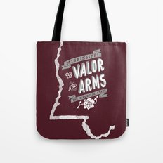 Mississippi Motto (Maroon) Tote Bag