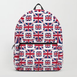flag of uk - with square Backpack