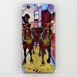 Ceremonial horses iPhone Skin