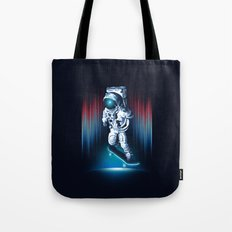Space Skater Tote Bag