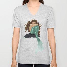 Somber Mermaid Unisex V-Neck