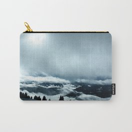 Cloudy Mountain Carry-All Pouch