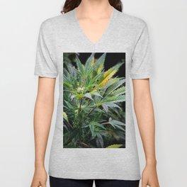 Marijuana Stand Out Unisex V-Neck