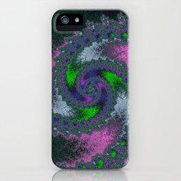 Fractal Twist iPhone Case