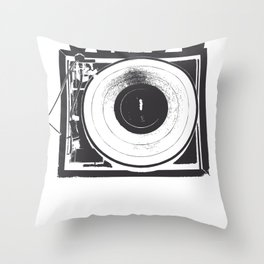 I Need Vinyl Throw Pillow