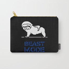 Beast Mode Sloth Carry-All Pouch
