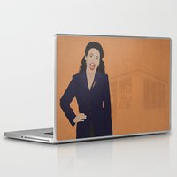 seinfeld Laptop & iPad Skins featuring Elaine Benes // Seinfeld // Graphic Design by Dick Smith Designs