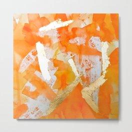 Tangerine Tango Metal Print