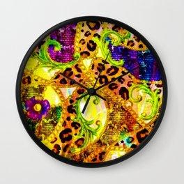 The Garden of Eden Wall Clock