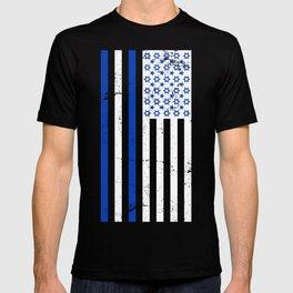 Israeli & American Flags T-shirt