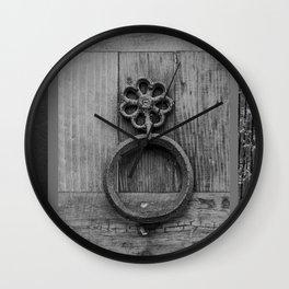 door knockers Wall Clock