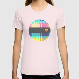Patterned HeartBeat T-shirt