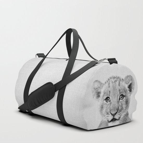 Baby Lion - Black & White by galdesign