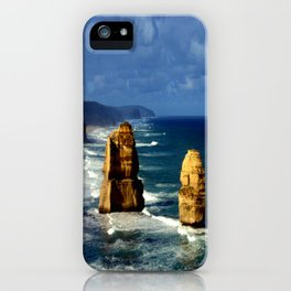 Limestone Rock Stacks & Headlands iPhone Case