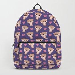 Kawaii otters Backpack