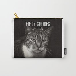 Cat - Fifty shades of meow Carry-All Pouch