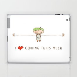I love cooking boy Laptop & iPad Skin