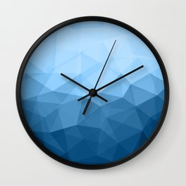 Geometric Polygonal Pattern 03 Wall Clock