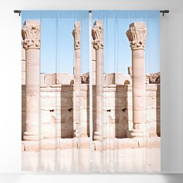 Temple of Dendera, no. 3 Blackout Curtain