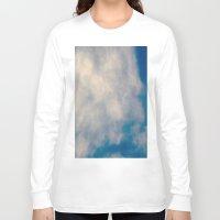 atlas Long Sleeve T-shirts featuring Cloud Atlas by Paula Zapata