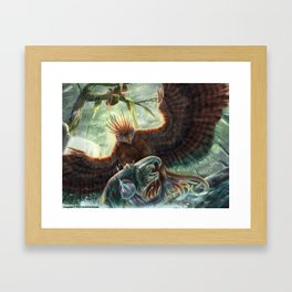 Scorpion Tailed Hawk Framed Art Print
