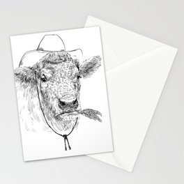 Cowby cow Stationery Cards