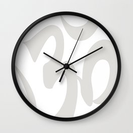 om_light Wall Clock