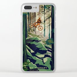 My Therapy Clear iPhone Case