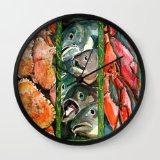 Frome the sea Wall Clock