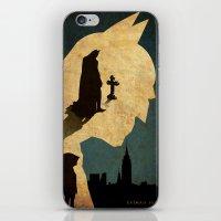bat man iPhone & iPod Skins featuring BAT MAN  by Edmond Lim