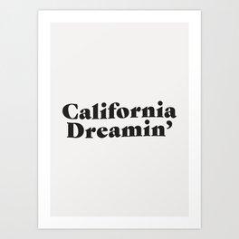 California Dreaming - Dark Art Print