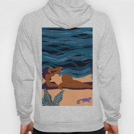 Eva At The Beach Hoody