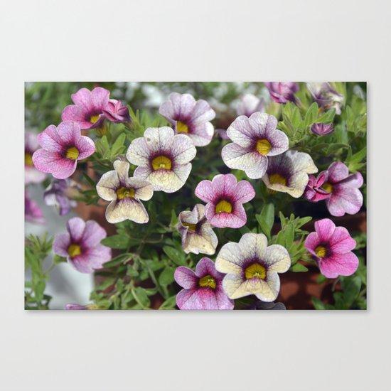 Floral summer cocktail Canvas Print