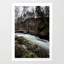 Wild River Art Print