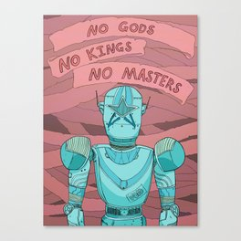 RogueBot Canvas Print