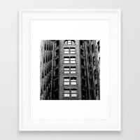 building Framed Art Prints featuring Building by Conor O'Mara